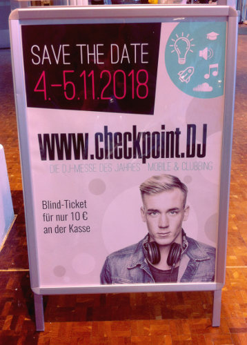 Termin 2018 Checkpoint.DJ Messe, Hannover Congress Centrum
