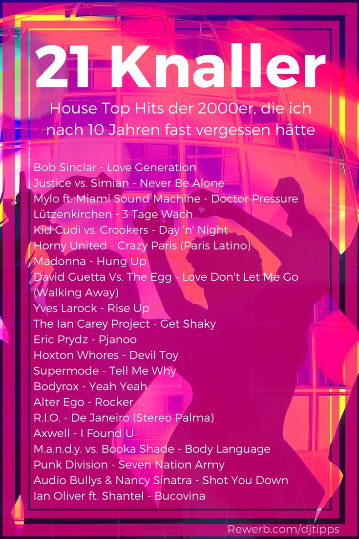 21 house knaller der 2000er die ich nach 10 jahren fast for Classic house songs 2000