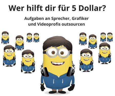 Wer hilft dir f r 5 dollar aufgaben an sprecher und for Job grafiker