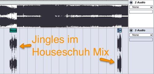 Jingles im Houseschuh Mix