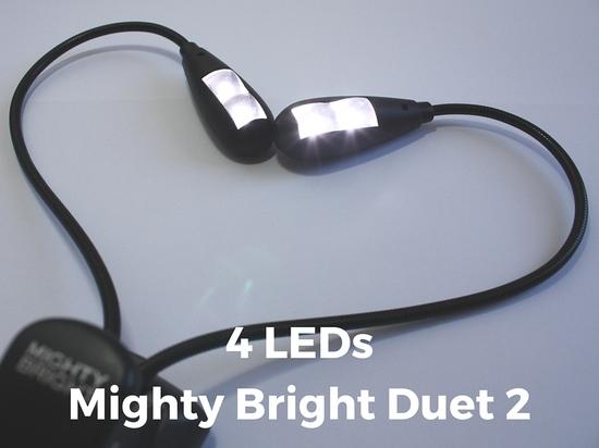 LED Notenpultleuchte Mighty Bright Duet 2