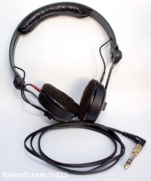 Mein DJ-Kopfhörer: Sennheiser HD 25