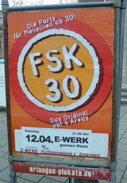 FSK 30, E-Werk, Erlangen