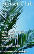 Sunset Club, open air, Erlangen