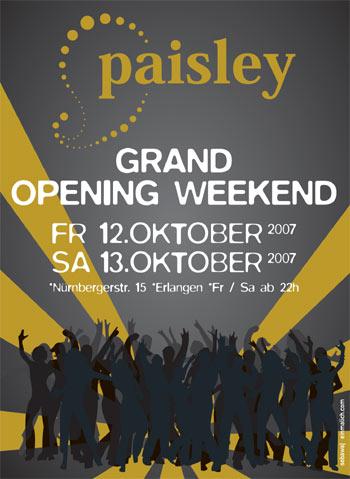 Paisley, Erlangen