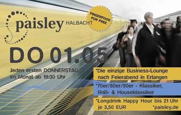 Paisley Halbacht, Erlangen