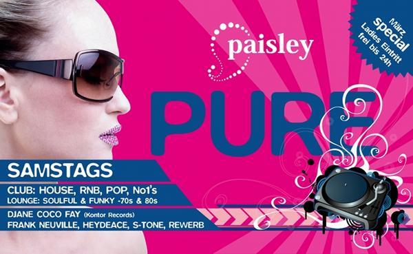 Paisley Pure, März Special, Paisley, Erlangen