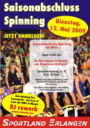 Spinning, Sportland, Erangen