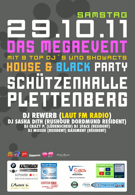 Mega-Event, Schützenhalle, Plettenberg