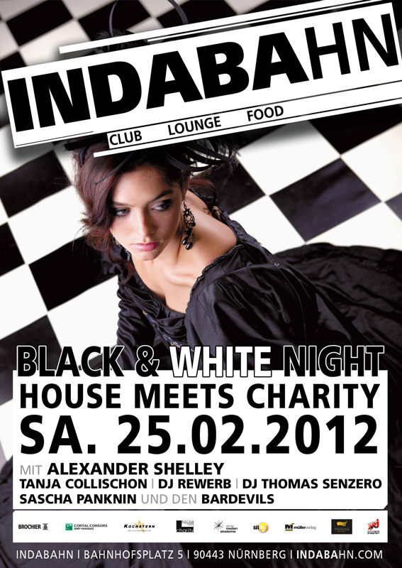 Black & White Night 2012, Indabahn, Nürnberg
