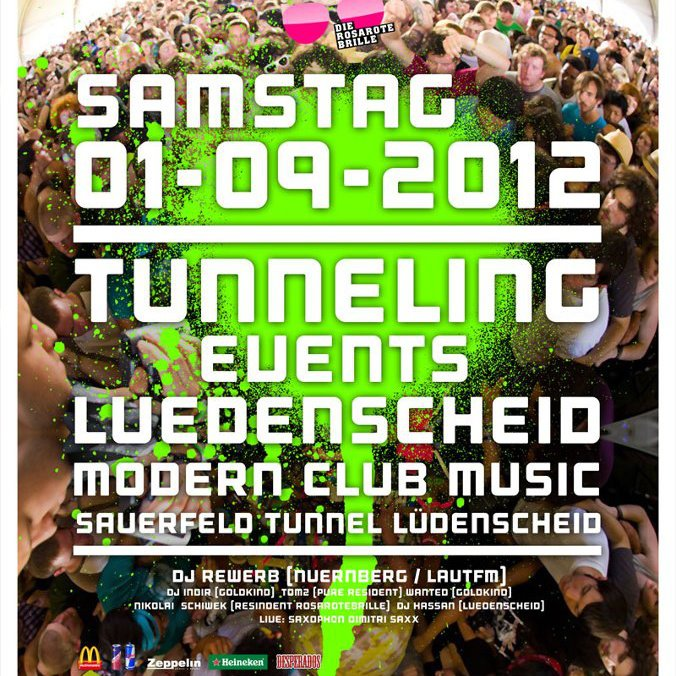 Tunnel-Party - Tunneling Events, Lüdenscheid