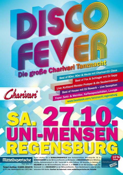 Disco Fever, Uni Mensen, Regensburg