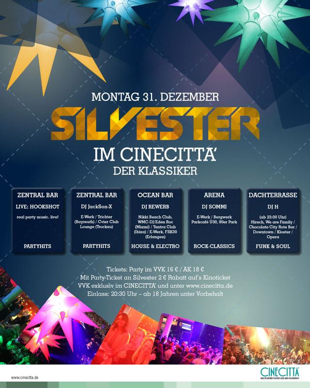 Silvester 2012, Cinecitta, Nürnberg