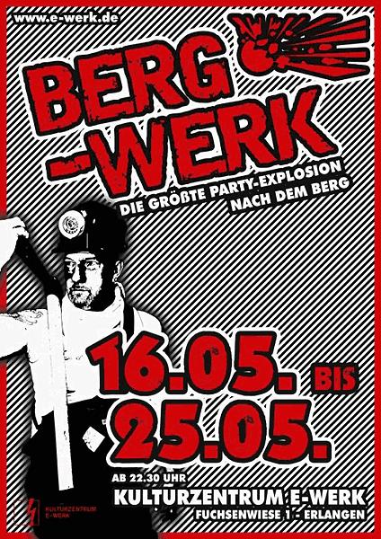 Berg-Werk 2013, Bergkirchweih After-Party im E-Werk