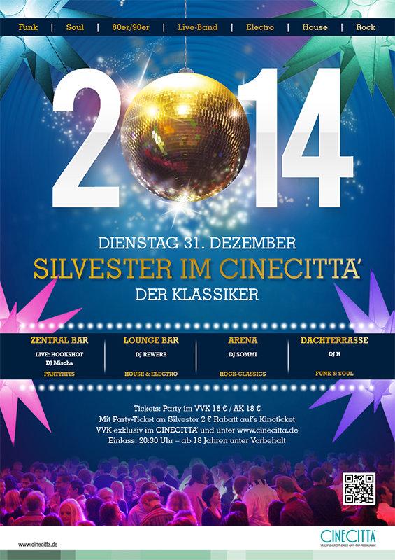 Silvester 2013, Cinecitta, Nürnberg