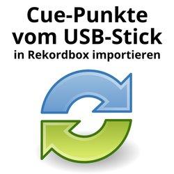 Cue-Punkte vom USB-Stick in Rekordbox importieren