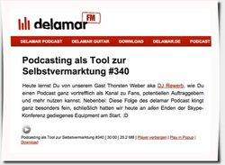 Delamar Podcast Interview, Folge 340