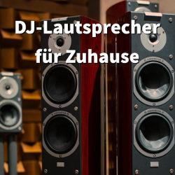 Welche DJ-Lautsprecher-Boxen soll ich für Zuhause kaufen?