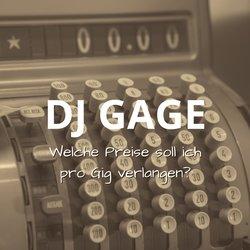 Welche Preise soll ich als DJ Gage für einen Gig verlangen?