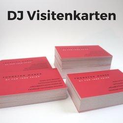 DJ Visitenkarten in einer Stunde selbst gestalten und drucken lassen