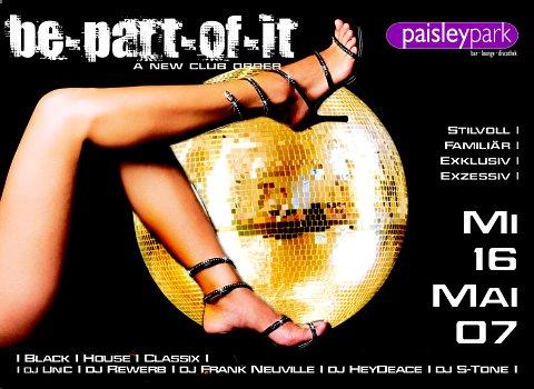 Be Part Of It, Paisley Park, Erlangen