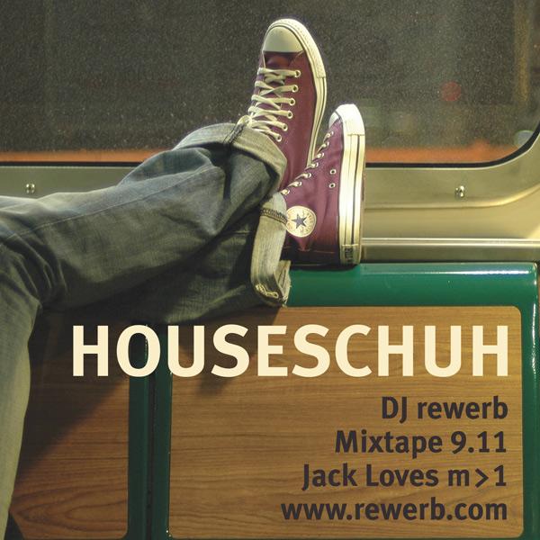 Houseschuh 9.11 - Jack Loves Mach1
