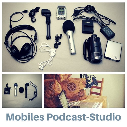 Mobiles Podcast-Studio