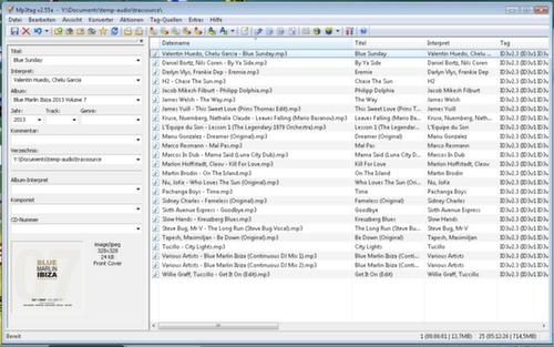 Umgeschriebene Dateinamen mit MP3Tag