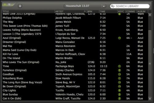 MP3-Musikdateien importieren in Mixmeister DJ-Software