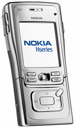 Nokia N91, mobile mp3 player
