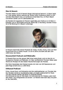 Beispiel Pressemappe, erste Seite als PDF-Dokument