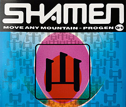The Shamen - Move Any Mountain, CD-Cover
