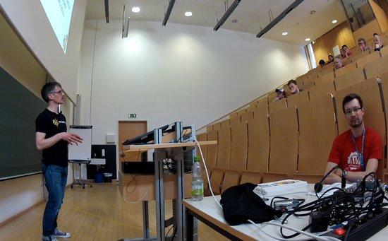 Wordcamp Nürnberg, Podcasten ist Bloggen, nur mit der Stimme, Vortrag DJ Rewerb