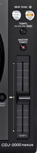 Beat Sync, Tempo, Pioneer CDJ 2000 nexus