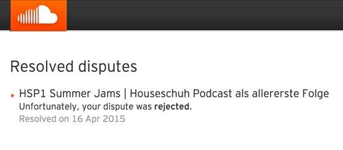 Copyright-Beschwerde wegen DJ-Mixtape bei Soundcloud
