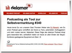 Delamar Podcast Interview, Folge 340