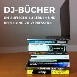 DJ-Bücher, um Auflegen zu lernen und dein DJing zu verbessern