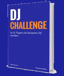 DJ-Challenge mit 31 Aufgaben, um als DJ besser zu werden, Buchcover