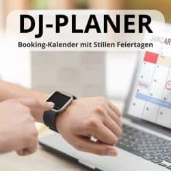 DJ Planer 2021: Party-Kalender mit stillen Feiertagen