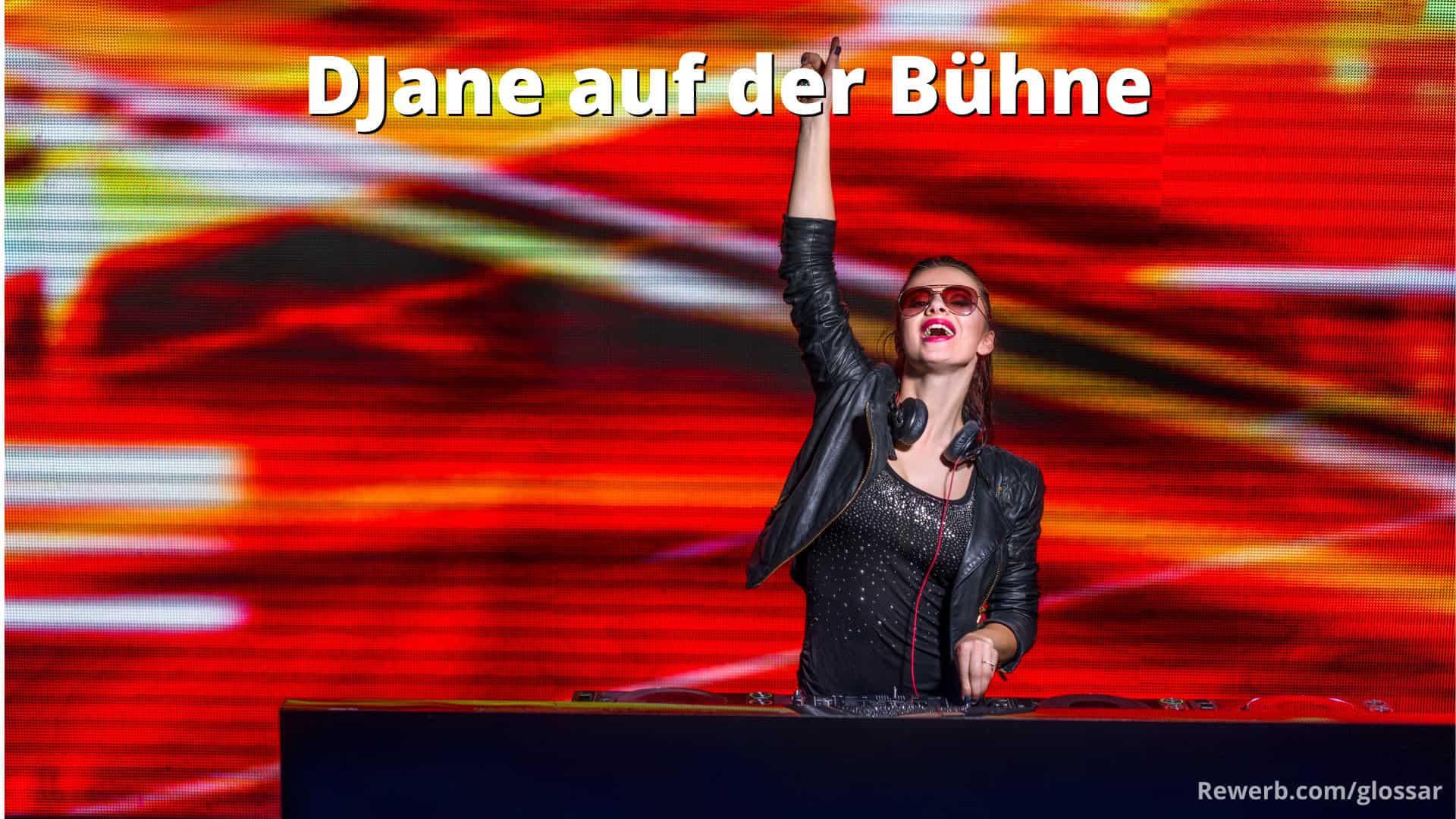 DJane - Weiblicher Discjockey: Kreuzworträtsel Lösung und DJ-Fachbegriff