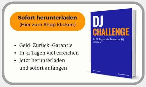 Hier klicken, um E-Book zu kaufen und DJ-Challenge sofort beginnen