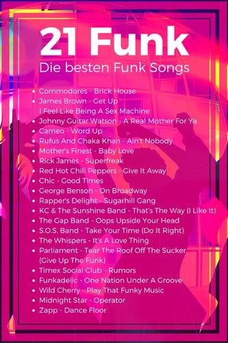 21 Funk Songs - Die besten Funk Classics