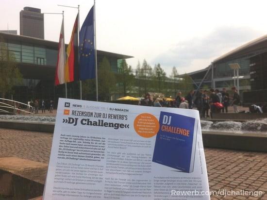 Rezension der DJ-Challenge in BVD Zeitschrift