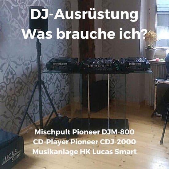 DJ-Ausrüstung, was brauche ich für mobile DJ-Gigs?