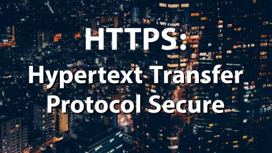 Erklärung HTTPs als Hypertext Transfer Protocol Secure