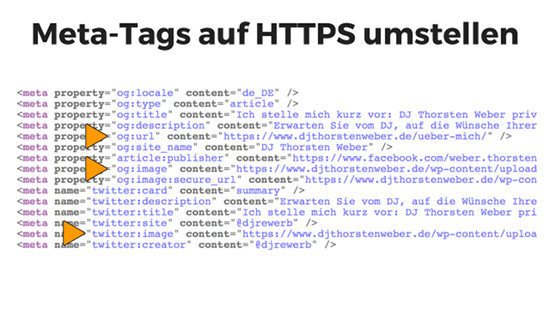 Open-Graph Meta-Tags auf HTTPS umstellen
