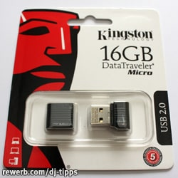 Kingston DataTraveler Micro, USB-Flash-Laufwerk, 16 GB