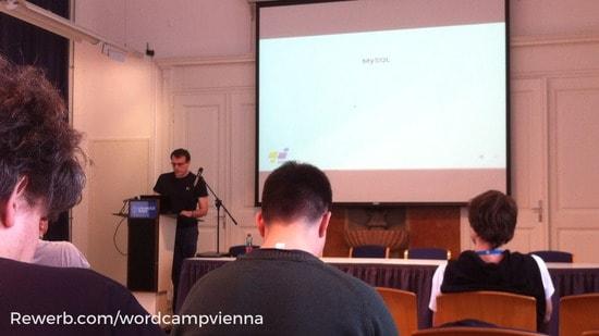 Optimising WordPress performance - Vortrag von Thomas Macdonald Wordcamp Vienna 2017