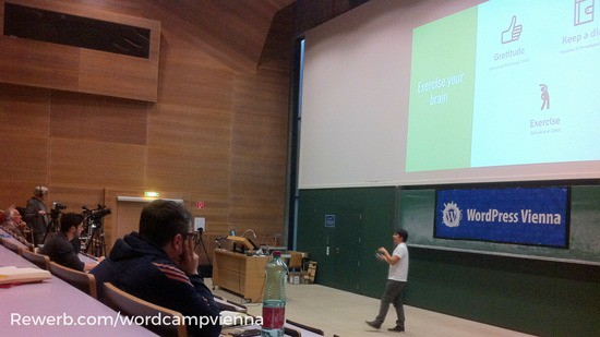 Remote work - Vortrag von Andres Cifuentes beim Wordcamp Vienna 2017