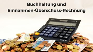 Buchhaltung als DJ und Einnahmen-Überschuss-Rechnung